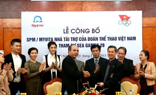 MyVita tiếp tục đồng hành cùng đoàn TTVN tại SEA Games