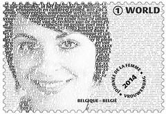 05 JOURNÉE INT DE LA FEMME timbre+micro texte