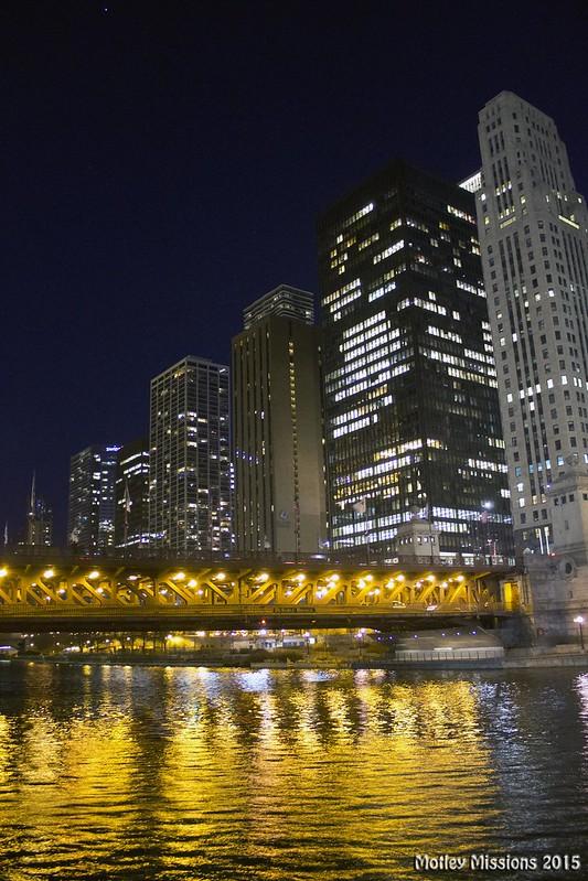 night river bridge