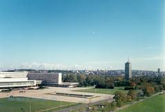 Beograd, Novi Beograd, palata Srbija, novembar 1998 god.