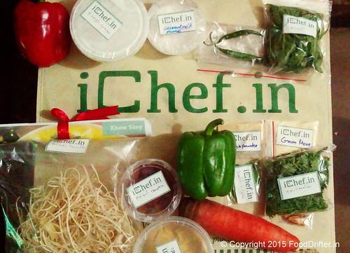 Khow Suey Ingredients
