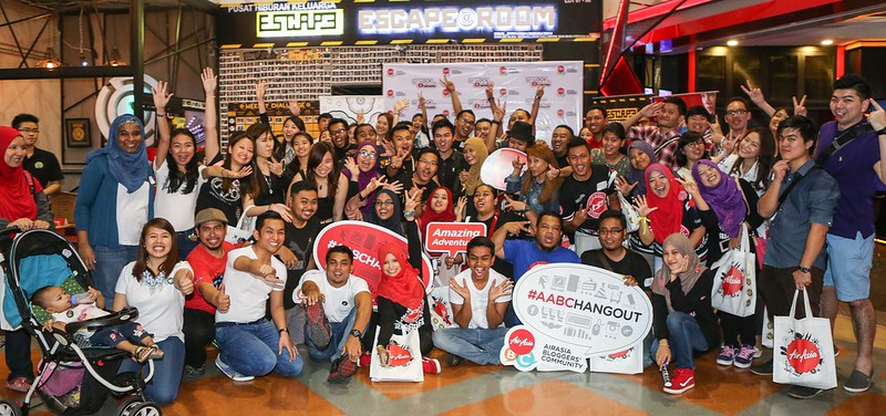 AirAsia Blogger Communities Hangout Escape Room, Berjaya Times Square