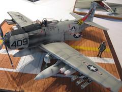 model aircraft, aviation, military aircraft, airplane, propeller driven aircraft, vehicle,