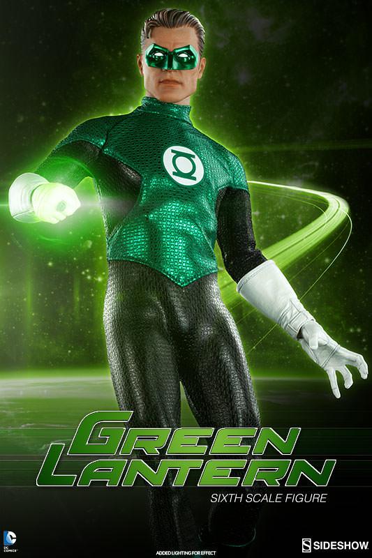 Sideshow Collectibles【綠燈俠】Green Lantern 1/6 比例人偶作品