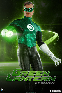Sideshow Collectibles【綠燈俠】Green Lantern 1/6 比例人偶作品