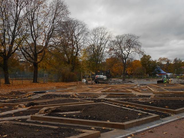Helsingin Kaisaniemen kasvitieteellisen puutarhan remontti - Tilannetta 16.10.2014
