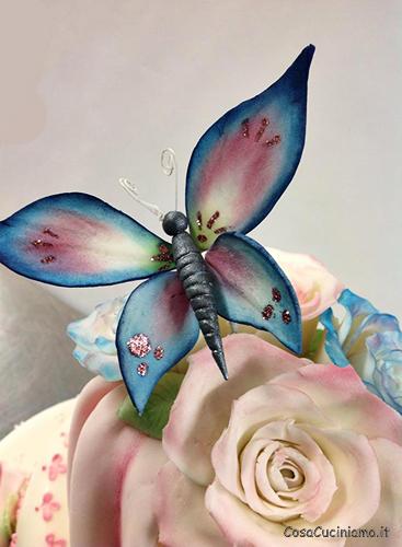 Torte - 69 - Topper Farfalle su ferretto
