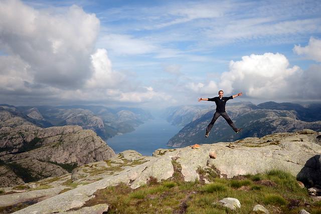 Diario de un Mentiroso en el fiordo Lysefjord