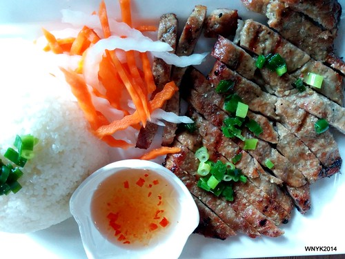 Broken Rice & Pork Chop