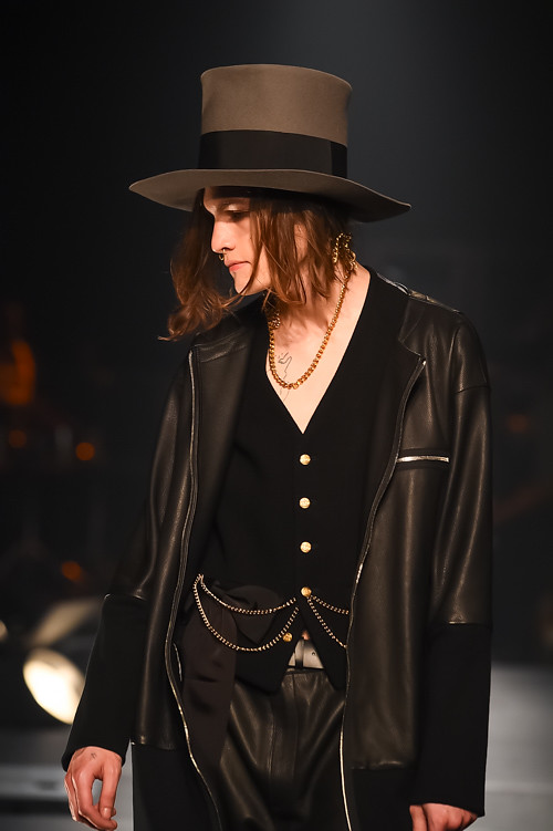 Marcel Castenmiller3343_FW15 Tokyo TAKEO KIKUCHI(Fashion Press)
