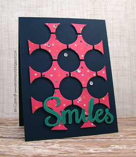 Jen Carter Frantic Stamper Circle Smiles