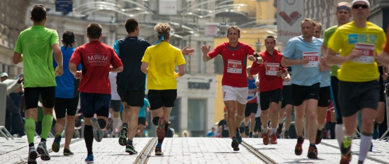 Centrum Brna se chystá na rekordní půlmaraton