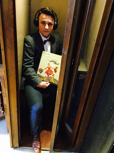 Vinyl Cafe Listening Booth