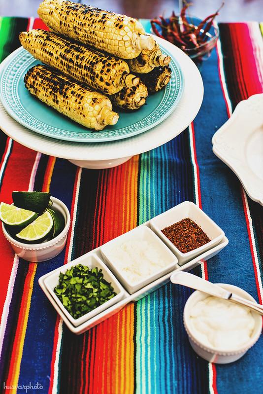 #DelimexFiesta Elotes bar mexican street corn