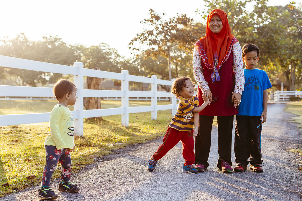 Family Photography Outing at Lake Titiwangsa
