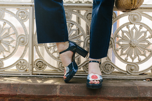 Orla Kiely x Clarks Shoes What Olivia Did