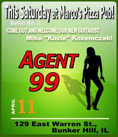 Agent 99 4-11-15