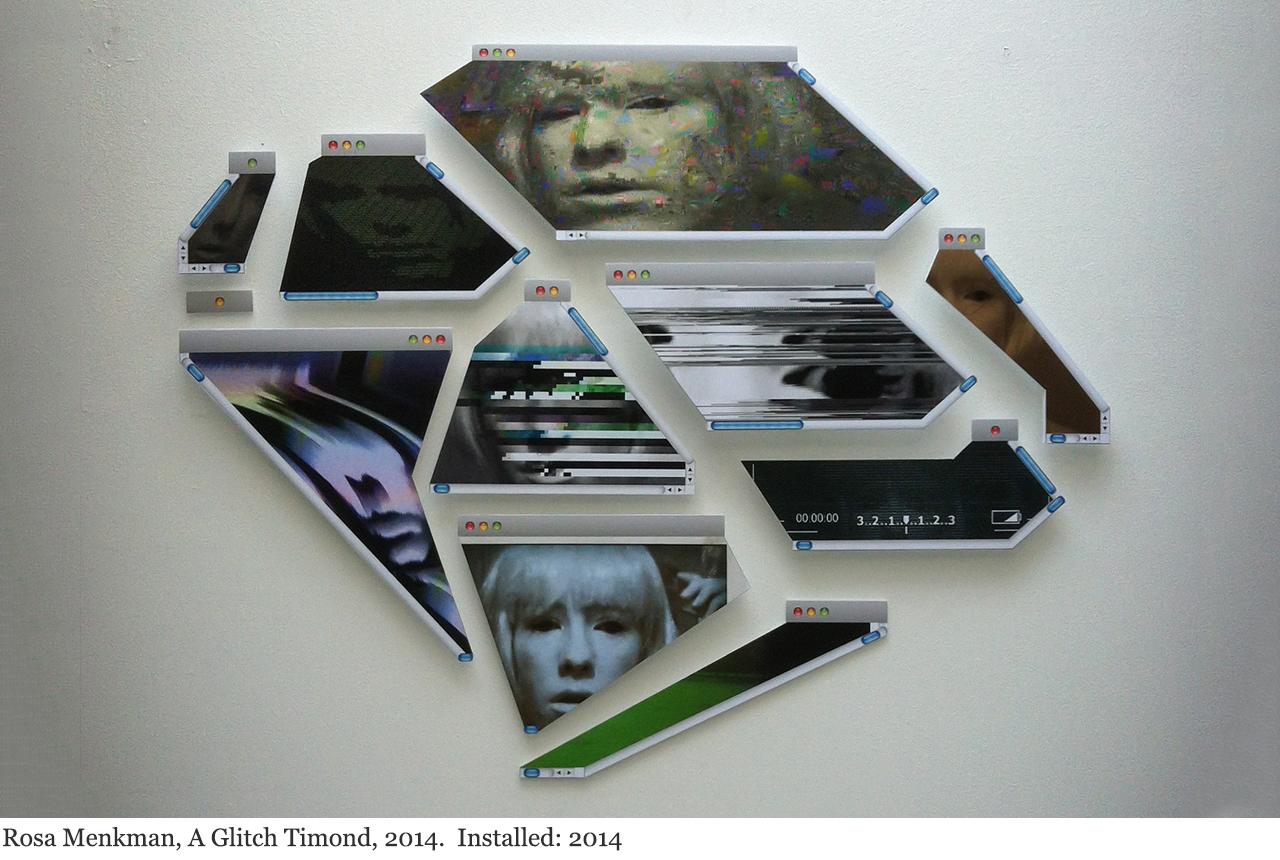 Rosa Menkman, A Glitch Timond, 2014.