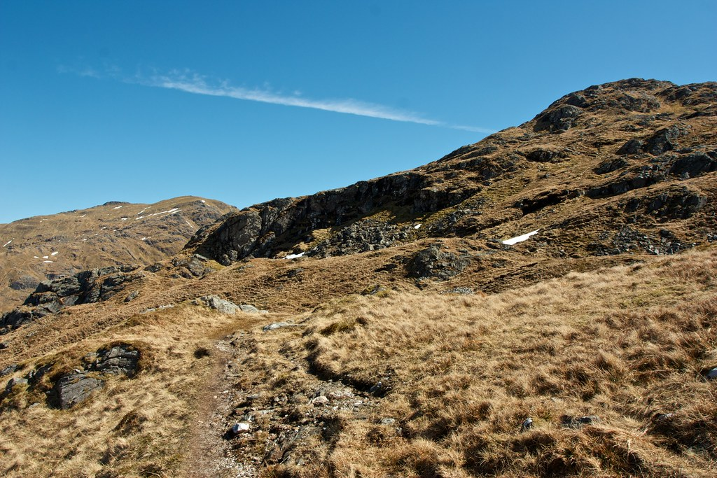 On the track to Beinn Chabhair