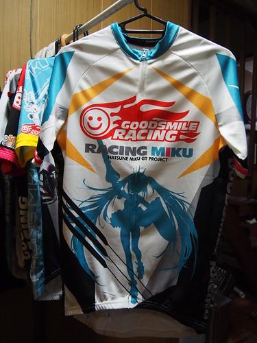 サイクルジャージ レーシングミク2015 EDGE Ver. 表