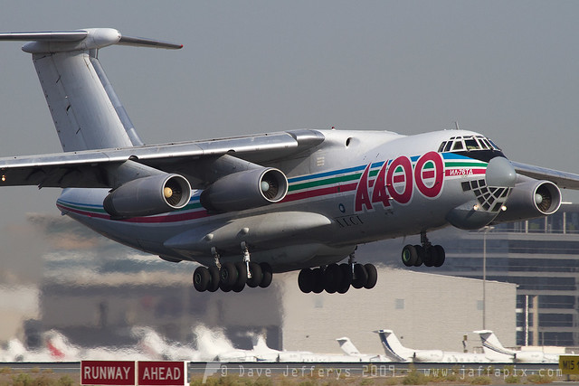 UP-I7625 IL-76 A400 Airlines