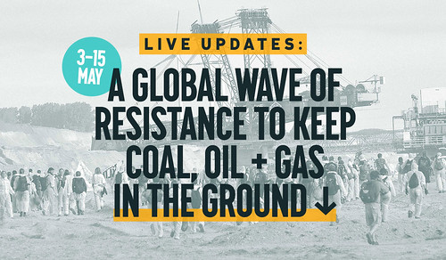 #breakfree2016 Libérate de los combustibles fósiles @ELAsindikatua