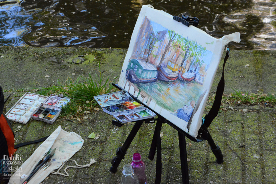 My plein-air workshop