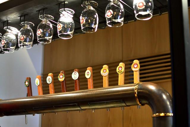 常陸野ブルーイングラボのビールタップ