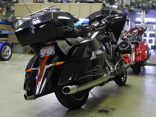 Victory Motorcycle with Focal