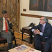 Secretary General Meets with Minister for Post-Conflict of Colombia