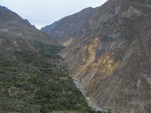 Trek du Cañon de Colca: la rivière Colca