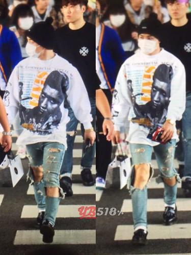 BIGBANG arrival ICN Seoul from Taiwan 2015-09-28 (20)