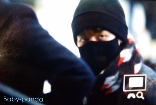 Big Bang - Gimpo Airport - 15jan2015 - Seung Ri - Baby Panda - 02