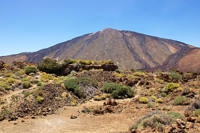 Hidden Building in Teide National Park, Tenerife