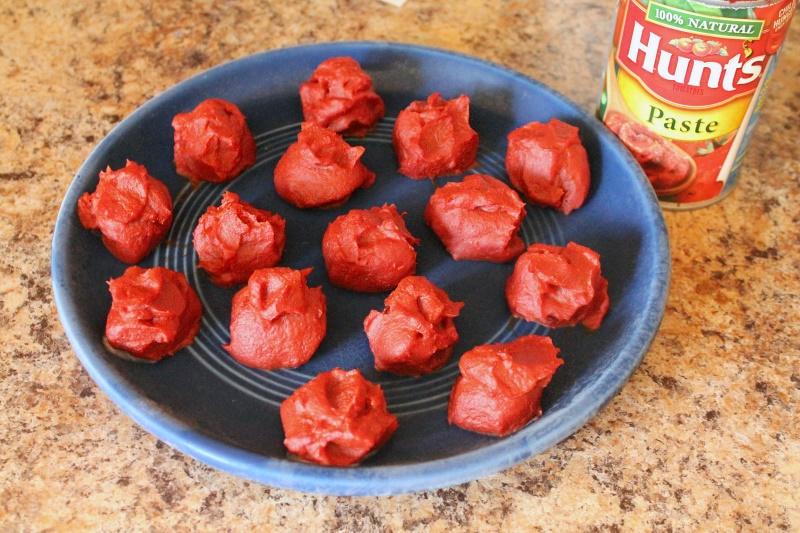 Freezing Tomato Paste, 1