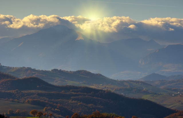 sun over the mountains | Flickr - Photo Sharing!