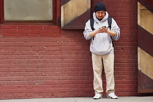 Everyone has a smartphone these days -- in New York, and everywhere else