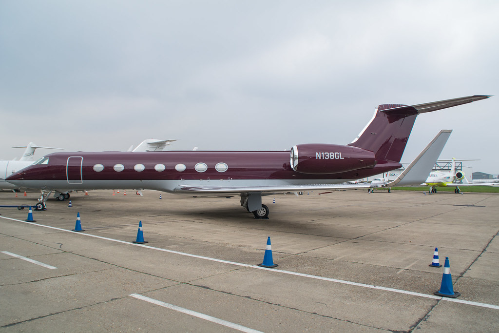 N138GL - GLF5 - Solairus Aviation