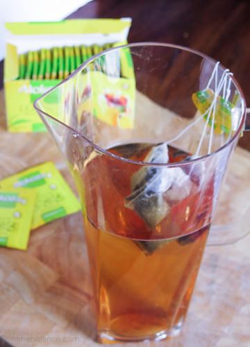 Summer Fruit Tea | infinebalance.com
