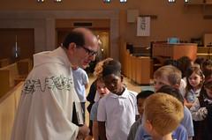 Fr. Paul at Mass