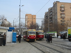 Moscow tram Tatra T3 3372