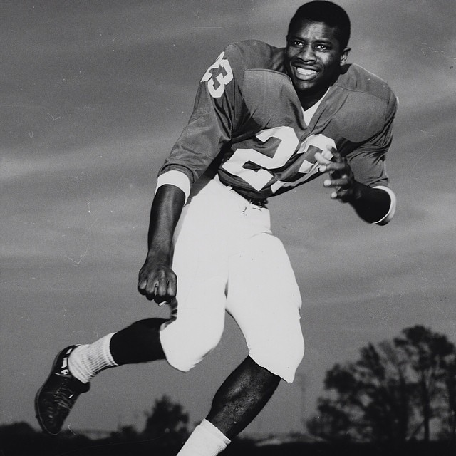 "With next week's screening of ""forward PROGRESS"" on the integration of @sec football, we #tbt to this image of @ukfootball player Nat Northington. Northington, who will be on hand for the screening's panel discussion, was the first African American to pla"