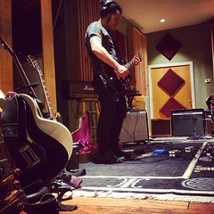 12 hours of guitars today. back for more tomorrow. #rocknroll #dayattheoffice #atsea2015 #bmore #guitar @drummerdario @eikopeck