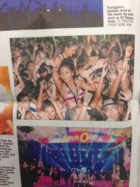 Did you spot Clarie at Zoukout?