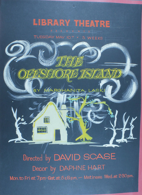 The Offshore Island Library Theatre Poster