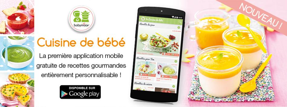 Cuisine de bébé recettes avec le Nutribaby Babymoov