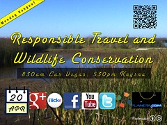 Monday, April 20 Hangout: Responsible Travel and Wildlife Conservation
