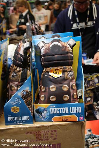 Talking Dalek pillow thingie