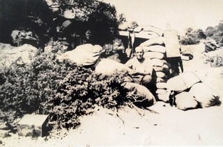 The Australian Army Post Office on Gallipoli - WW1