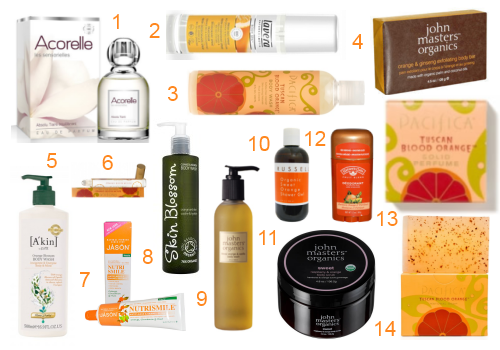 Orange Oil in Beauty Products